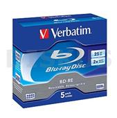 Blu-ray Disc BD-RE medium 25 GB  4x  Verbatim